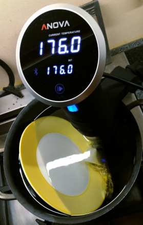 Infuse at 176°F for 10 minutes. Photo by tippledpink.